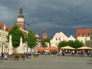 Cottbus Marktplatz